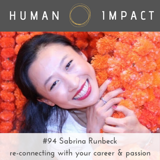 Sabrina Runbeck, re-connect with your career
