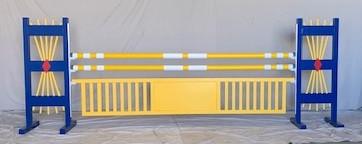 blue yellow fan and gate aluminum.jpg