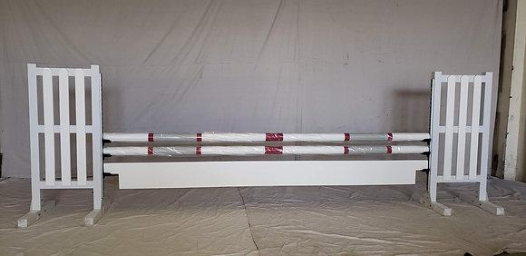 12' White Plank