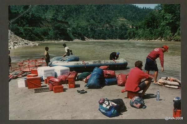 River rafting Trisuli River Nepal 2009-0