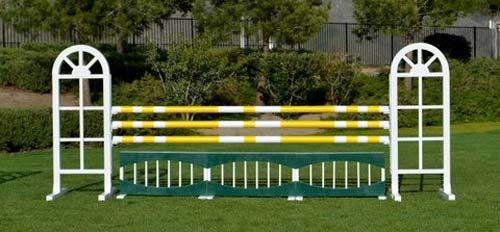 Aluminum Jumper Package – 9 jumps including4 oxers