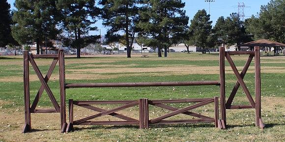 Set of 4x 10' Log rails