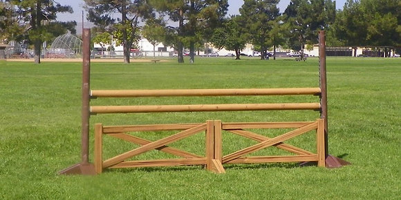 Set of 4x 10' Cedar rails