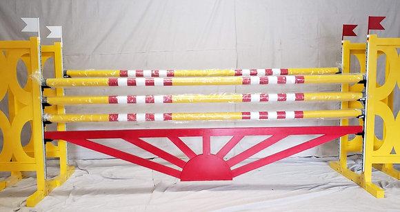 Custom jumper gate (sunburst)