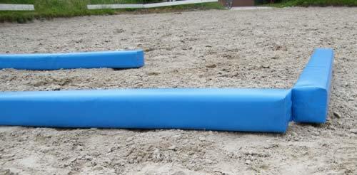 2m x 1m Soft Corner Rail