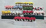 10' Polyethylene Flowerboxes WITH flowers