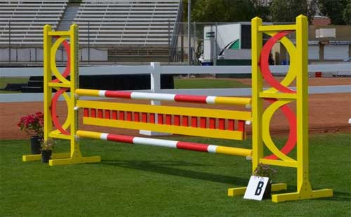 Aluminum Jumper Course - Large Arena (12 jumps incl. 6 oxers)