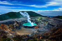Poas Volcano, Guatemala