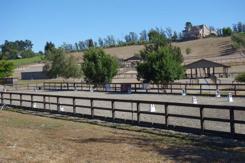 Cowboy Dressage Arena