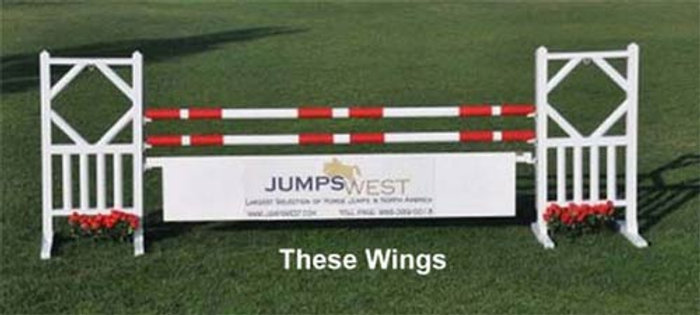 Complete Jumper Course Aluminum Wings Wood Fill 15