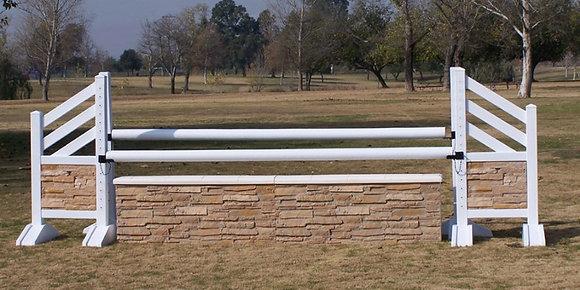 10' Travertine Wall
