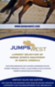 jumpswest has the largest selection of horse sports equipment in North America