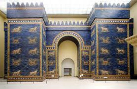 Gates of Ishtar in the Berlin Museum
