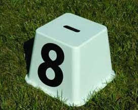 Freestanding cube Jump Numbers - set of 20