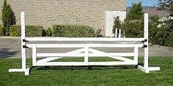 10' Wood Paddock Gate