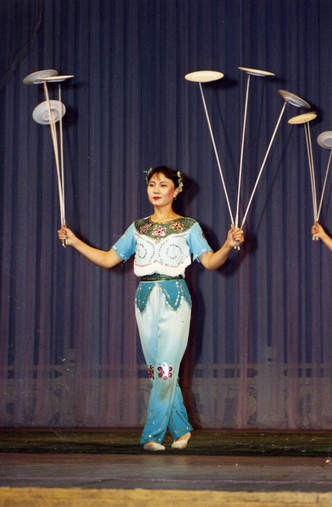 Chinese Acrobats, Beijing