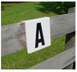 Rail Letters (Set of 8)