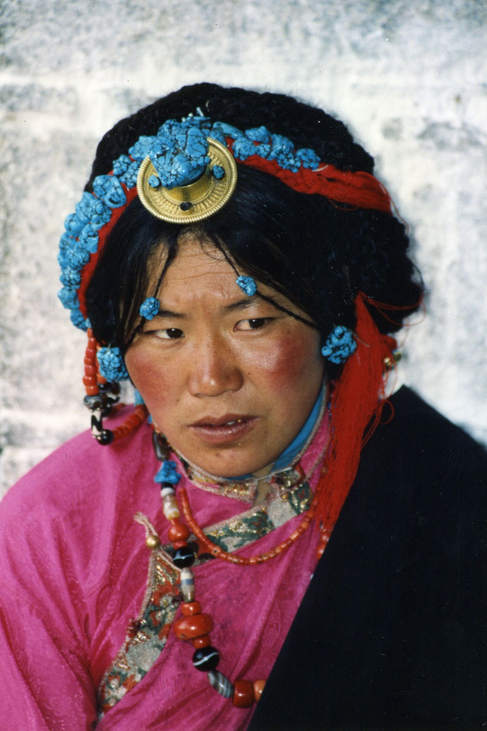 at the Barkhor, Jokhang Lhasa Tibet