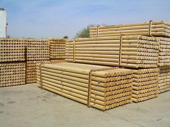 10' / 12' unpainted wood rail