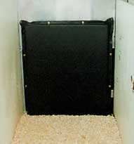 "4' x 12' Stall pad - 4"" thick therapeutic"
