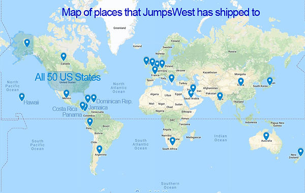 JumsWest shipping