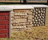 12' Stone Wall Set