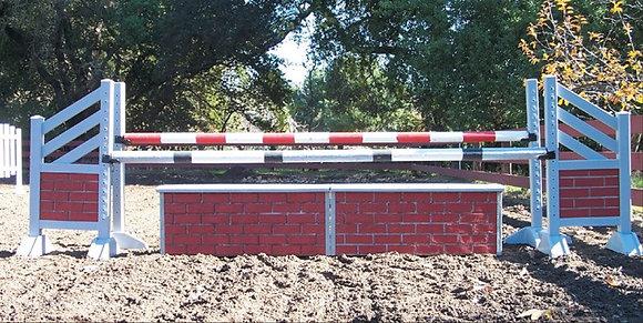 10' Brick Wall