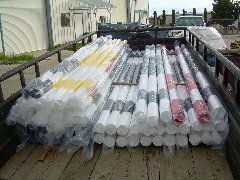 rails being shipped out