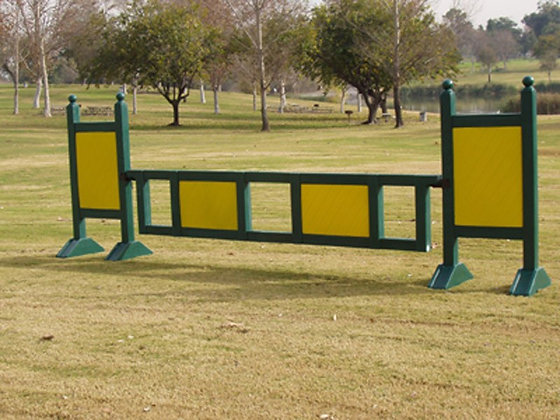 10' Poly Gate with custom coloring - 2 panels