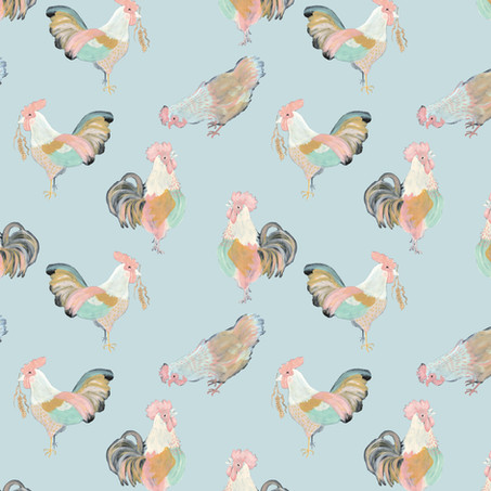 Pastel Chickens