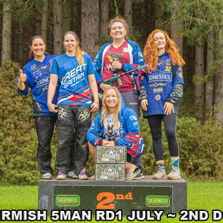 2nd Place - Skirmish 5 Man R1 2020