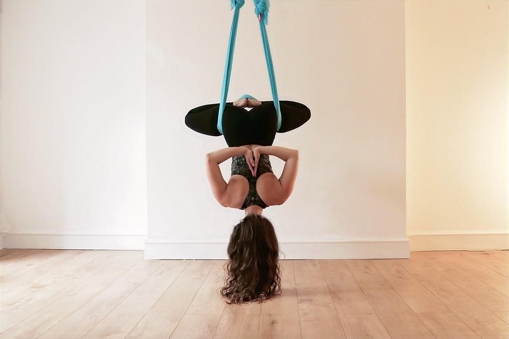aerial yoga classes silks for beginners bristol clifton