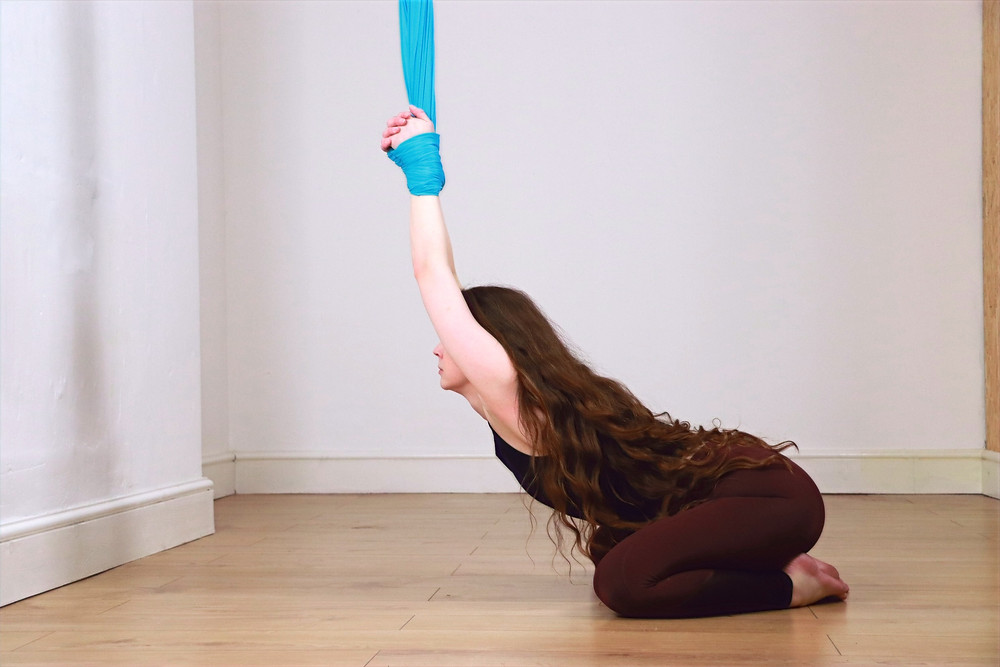 Aerial yoga classes for beginners in Bristol Clifton