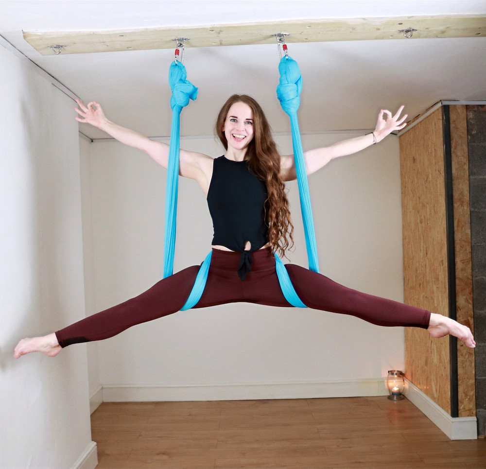 things to do Bristol, hen parties bristol, aerial yoga Clifton