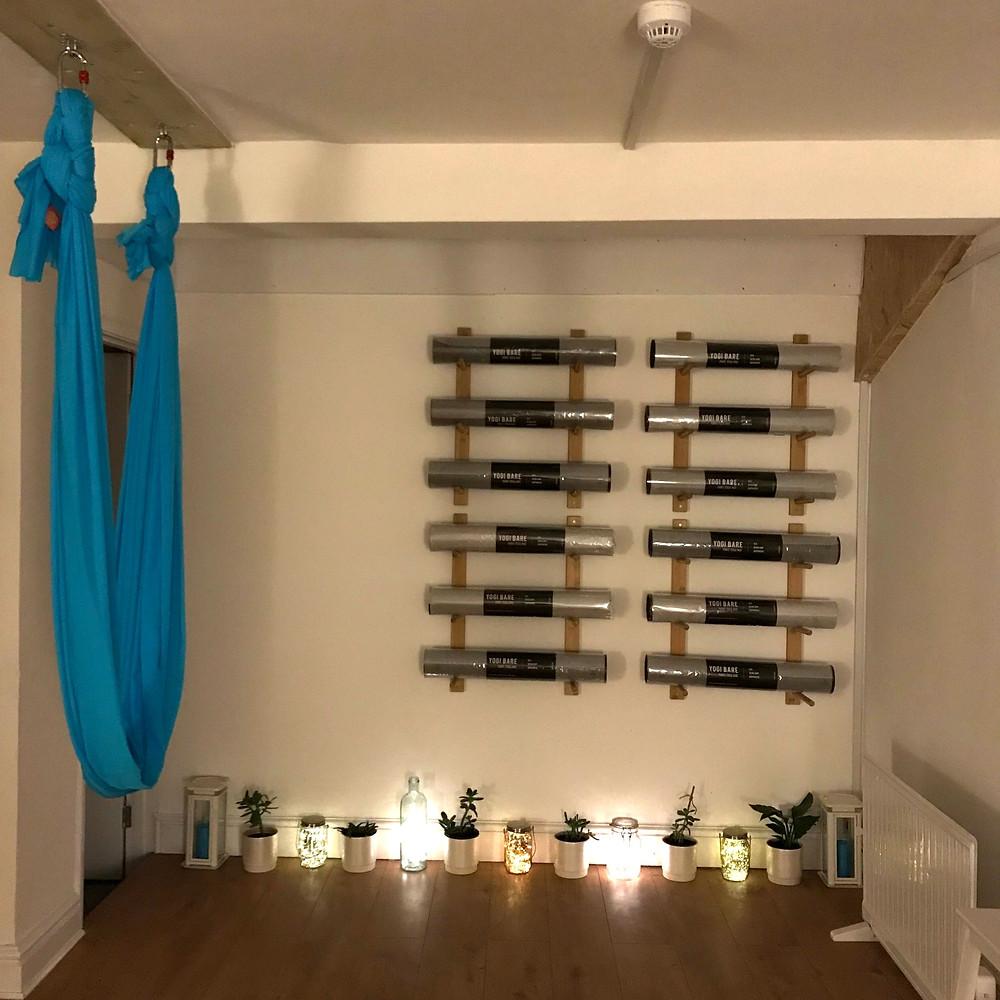 Aerial yoga studio in Clifton, Bristol