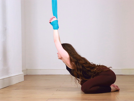 Aerial Yoga at CSY!