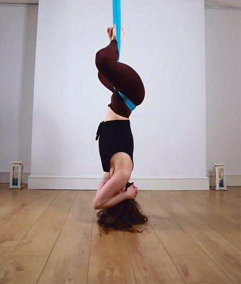 aerial yoga private sessions in Bristol