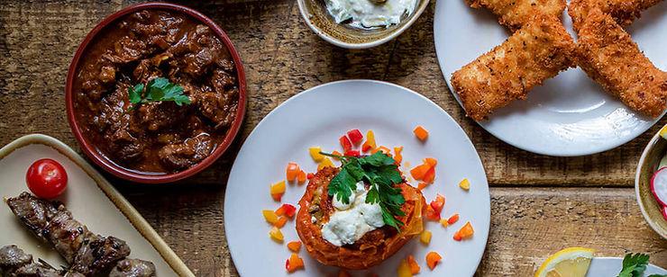 Childrens menu Nikos Greek Restaurant Castle Dumfries & Galloway