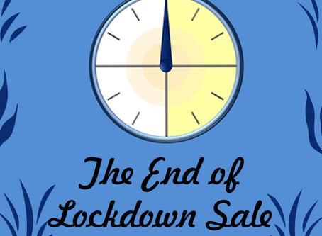 Last Few Days of the Lockdown Sale!