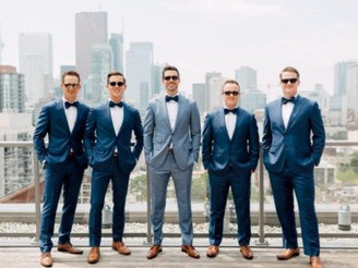 Don't forget the guys: tips for choosing groomsmen attire