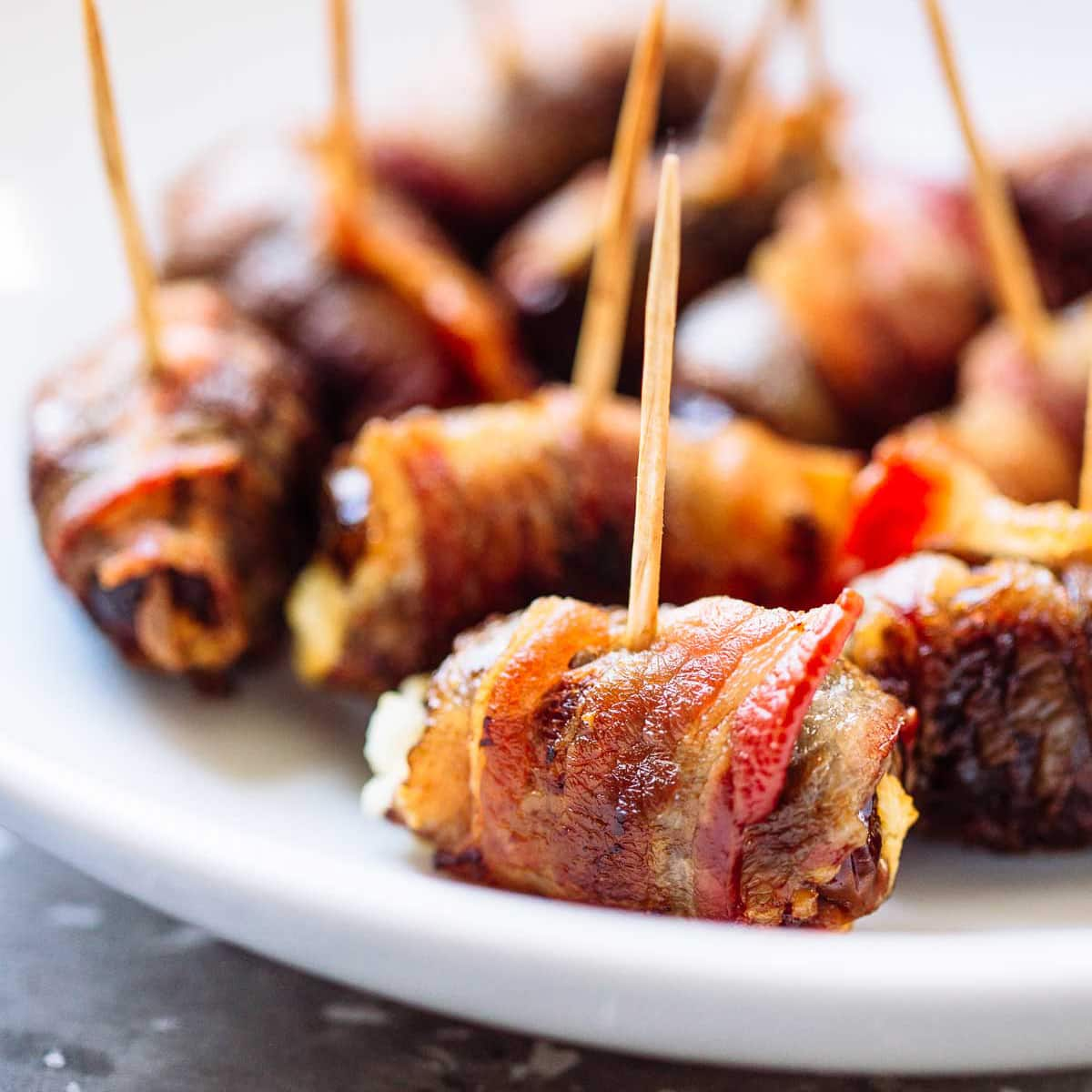 Bacon Wrapped Dates Picture