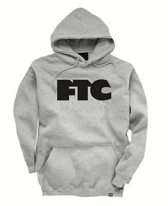 FTC OG LOGO HOODY atlethic grey