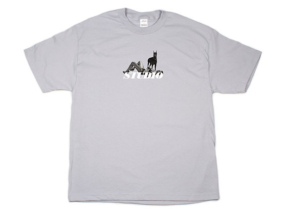 Dobermann - Tee - Grey