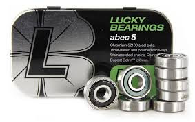 Lucky ABEC 5 Skateboard Bearings
