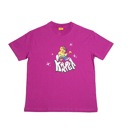 Kindergarten Tee purple