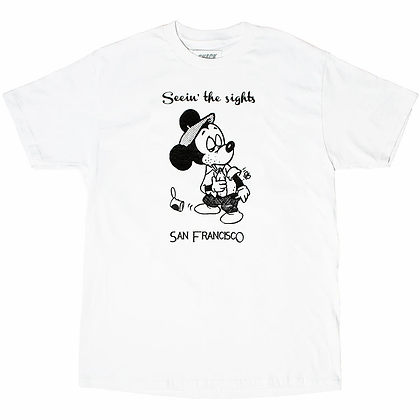 SEEIN THE SIGHTS TEE White
