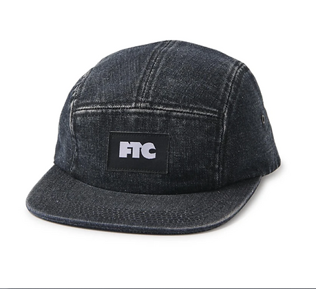 FTC OG DENIM CAMPER CAP BLACK