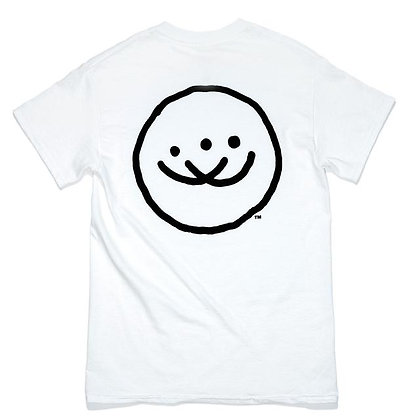 Doubles Classic Smiley SS- White
