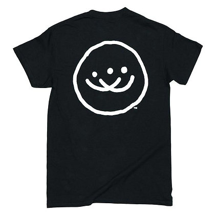 Doubles Classic Smiley SS - Black