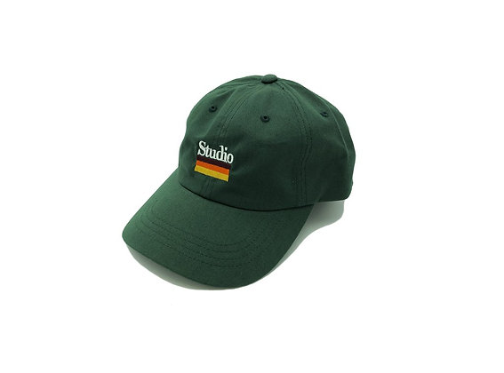 Mellow Stripes - Dad Hat - Forest